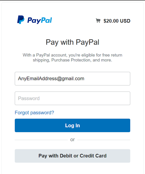 pay with credit card option at paypal1